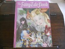 THE FAIRY TALE BOOK, Adrienne Segur, 1st/1st print US 1958 HC, Golden Books