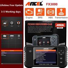 ANCEL FX3000 Automotive OBD2 Scanner Tool Check Engine Transmission SRS ABS US