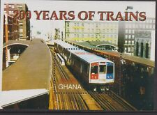 f035) Ghana. 2005.  MNH.  SG ms3479a. 200 Years of Steam Trains