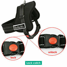 More details for dog harness collar lead adjustable padded non pull reflective security uk k9