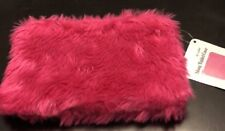 Shag Tablet / Accessory Bag In Pink- Holds Up To An 8 Inch Tablet
