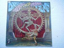 DANCE MUSIC FROM INDIAN FILMS P SUSHEELA T M SOUNDARARAJAN 1969  BOLLYOOD LP EX