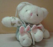 Carter's Teddy Bear Easter Bunny Rabbit Musical Plush Sound & Motion