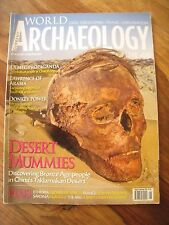 Current World Archaeology Magazine #66 August September 2014: Bronze Age China