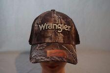 Wrangler Realtree Camo Mesh Trucker Hat Cap One Size Nwt