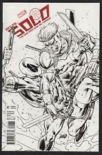 Solo #1 1:100 Variant Cover by Rob Liefeld