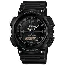 Casio AQS810W/1A2V 100m Water Resistant Solar Power Analog/Digital Watch - Black
