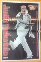 JUSTIN TIMBERLAKE The Sun August 4, 2004 Poster ONLY (SPN)