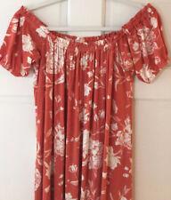 Gorgeous NWT  Rachel Pally CHIPOTLE PEONY Print Long Caftan Dress sz LG