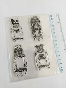Clear silicone  Stamps Scrapbooking Album Card making embelishments DlY