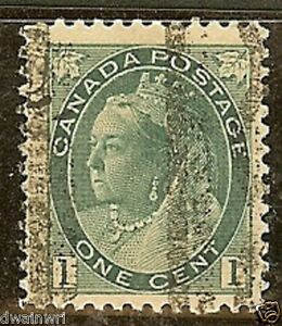 Canada Precancel stamp - Style T-75-VD (Doubled Vertically)  - dw908.9