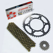 Honda CB250 N NA T1 T2 1980 Choho H/D Gold Chain and Sprocket Kit