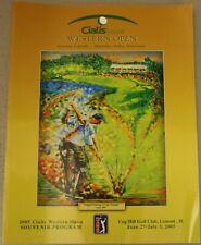 2005 Cialis Western Open Official Souvenir Program Cog Hill Jim Furyk Golf