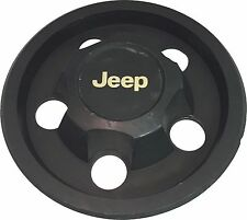 1984-1992 JEEP CHEROKEE COMANCHE Steel Wheel Hub Center Cap OEM Gold Lettering