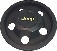 1987-2006 JEEP WRANGLER Steel Wheel Hub Center Cap OEM Gold Lettering