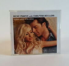 Ricky Martin whit Christina Aguilera nobody wants to be lonely cd