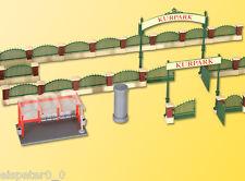 H0 Deko-Set Zaun für englischen Garten, Modellwelten Bausatz 1:87, Kibri 38601