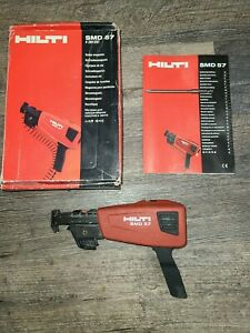 Hilti SMD57 Collated Drywall Screw Magazine Used