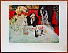 Pablo Picasso  Les Soupeurs  Vintage Original 1960 1st Print Ltd Ed Lithograph