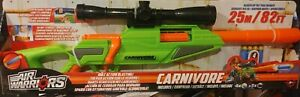 """✅AIR WARRIORS CARNIVORE""""LONG SCOPE"""" BOLT ACTION BLASTING ! Up To 100 Ft"""