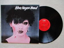 "LP 33T NINA HAGEN BAND ""Nina Hagen Band"" CBS 32293 HOLLAND §"