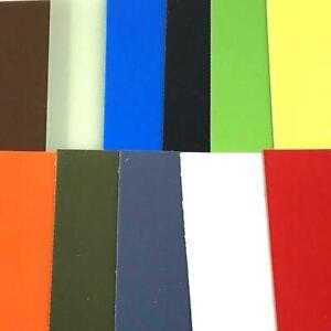 "G10 Knife Handle Liner Sheet- .02"" x 5.5"" x 12.25""- 11 Vibrant Colors--.02"""