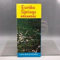 Vintage Eureka Springs Arkansas Travel Brochure 1960's mv