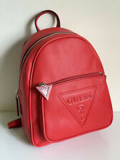 NEW! GUESS BALDWIN PARK COLLECTION RED TRAVEL BACKPACK BAG PURSE SALE