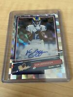 Van Jefferson 2020 Donruss The Rookies Insert Auto Autograph /299 LA Rams