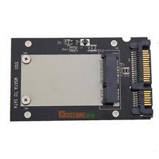 """Black Mini pcie PCI-E mSATA SSD to 2.5"""" SATA Convertor mSATA-SATA Adapter Card"""