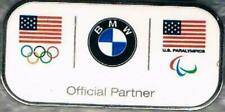 Undated BMW USA Olympic & Paralympic Teams NOC Sponsor Collector Pin