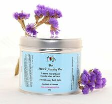 Epsom Mineral Bath Salts *The Muscle Soothing One* Muscle Therapy Bath Salts