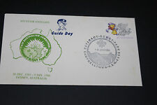 AUST 1986 CATARACT NSW 14TH AUST JAMBOREE SOUVENIR GUIDE DAY FIRST DAY COVER