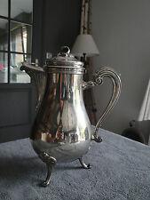 CHRISTOFLE silver plated Coffee pot marly pattern
