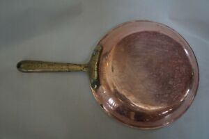 """Cop R Chef 8"""" Skillet Copper Brass Stainless Cookware Saute Fry Pan Cop*r*Chef"""