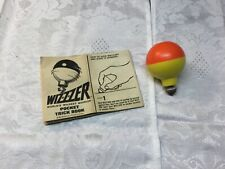 Vintage 1969 Whizzer Top with pocket Trick Book