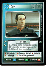 STAR TREK CCG FIRST CONTACT RARE CARD DATA