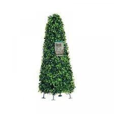 Topiary Obelisk Artificial Outdoor Plant Garden Decoration - Set of 1 (60cm)