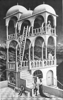 Framed MC Escher Artworks Wall Art Poster 47 36 24 16 Inches