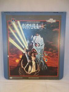 Vintage CED RCA SelectaVision VideoDisc Krull, good condition