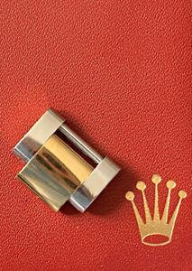 Maillons de bracelet ROLEX Oyster Or et Acier 15,5 mm avec vis