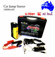 Car Jump Starter 16800mAH 600AMP, Power Bank Battery Charger Emergency Booster
