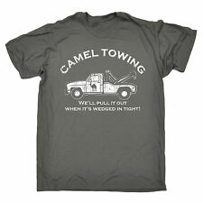 Funny T Shirts CAMEL TOWING T-SHIRT tee rude offensive naughty birthday gift