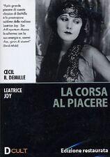 Dvd **LA CORSA AL PIACERE** Edizione restaurata di Cecil B.Demille nuovo 1925