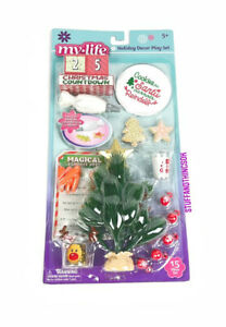 """My Life As Christmas Holiday Decor Doll Accessories Play Set for 18"""" Dolls NEW"""
