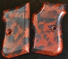FIE Titan 25 ACP pistol grips graphite and super copper swirl plastic