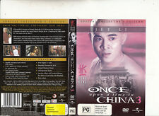 Once Upon A Time In China 3-Jet Li-1993-China Movie-DVD