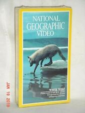 NATIONAL GEOGRAPHIC VHS VIDEO WHITE WOLF 1992 BRAND NEW SEALED STEREO