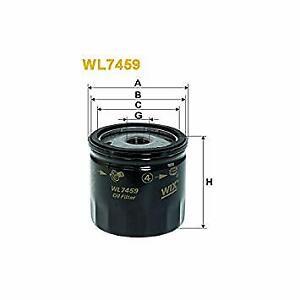 WIX Oil Filter WL7459 (Ref Ryco Z781) fits Volkswagen Up 1.0