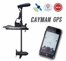 "HASWING CAYMAN GPS  55LB 48"" Shaft TROLLING MOTOR  Rocord route, Anchor lock + R"